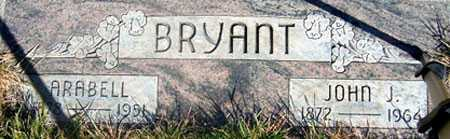 BRYANT, JOHN JACOB (JJ) - Baker County, Oregon | JOHN JACOB (JJ) BRYANT - Oregon Gravestone Photos