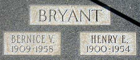 BRYANT, EARL HENRY - Baker County, Oregon | EARL HENRY BRYANT - Oregon Gravestone Photos