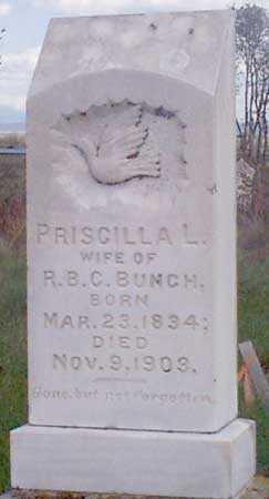 BUNCH, PRISILLA LILLY - Baker County, Oregon | PRISILLA LILLY BUNCH - Oregon Gravestone Photos