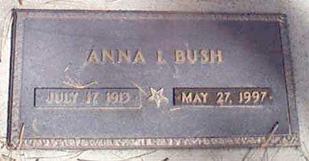 BUSH, ANNA L. - Baker County, Oregon | ANNA L. BUSH - Oregon Gravestone Photos