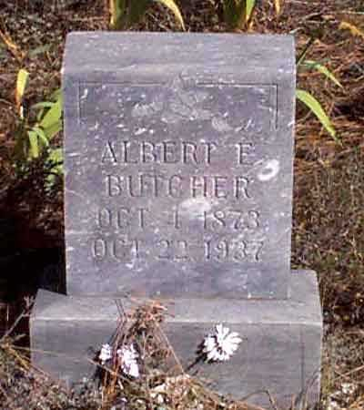 BUTCHER, ALBERT E. - Baker County, Oregon | ALBERT E. BUTCHER - Oregon Gravestone Photos
