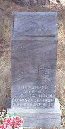 CALHOUN, MARTHA ELIZABETH - Baker County, Oregon | MARTHA ELIZABETH CALHOUN - Oregon Gravestone Photos