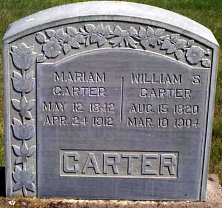 CARTER, WILLIAM S. - Baker County, Oregon | WILLIAM S. CARTER - Oregon Gravestone Photos