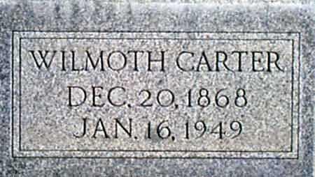 CARTER, WILMOTH - Baker County, Oregon | WILMOTH CARTER - Oregon Gravestone Photos