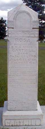 CARTMILL, ROSA - Baker County, Oregon | ROSA CARTMILL - Oregon Gravestone Photos