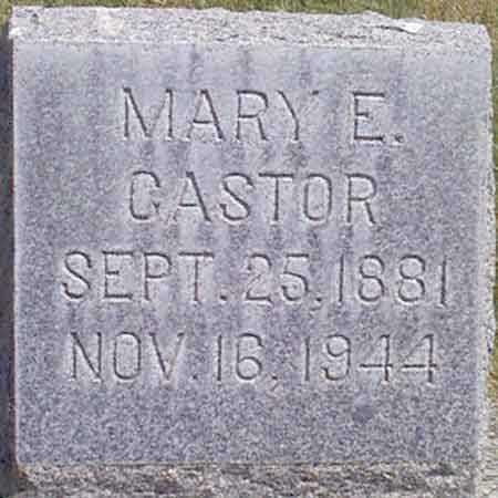 CASTOR, MARY E. - Baker County, Oregon | MARY E. CASTOR - Oregon Gravestone Photos