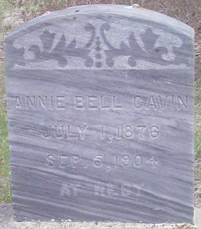 CAVIN, ANNIE BELL - Baker County, Oregon | ANNIE BELL CAVIN - Oregon Gravestone Photos