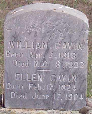 WILSON CAVIN, ELLEN - Baker County, Oregon | ELLEN WILSON CAVIN - Oregon Gravestone Photos