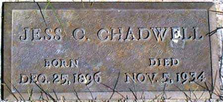 CHADWELL, JESS C. - Baker County, Oregon   JESS C. CHADWELL - Oregon Gravestone Photos
