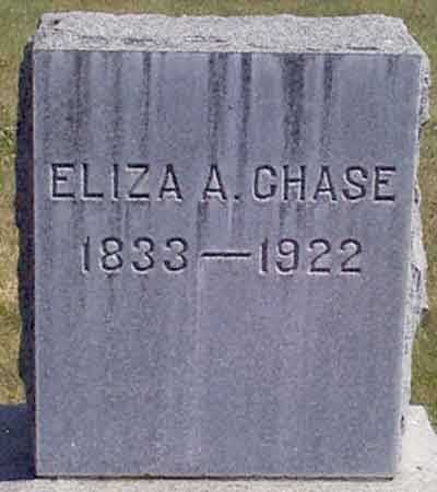 CHASE, ELIZA A. - Baker County, Oregon | ELIZA A. CHASE - Oregon Gravestone Photos