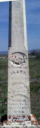 CHRISTENSEN, CLARA - Baker County, Oregon | CLARA CHRISTENSEN - Oregon Gravestone Photos