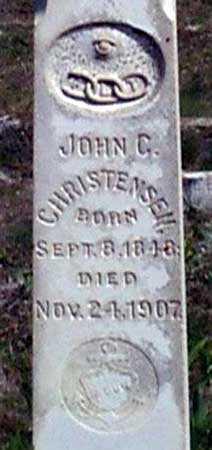 CHRISTENSEN, JOHN C. - Baker County, Oregon | JOHN C. CHRISTENSEN - Oregon Gravestone Photos