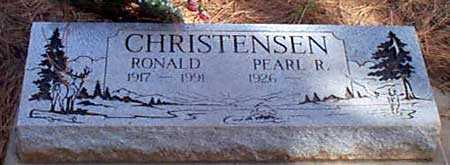 CHRISTENSEN, PEARL ROSETTA - Baker County, Oregon | PEARL ROSETTA CHRISTENSEN - Oregon Gravestone Photos