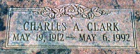 CLARK, CHARLES ALONZO - Baker County, Oregon   CHARLES ALONZO CLARK - Oregon Gravestone Photos