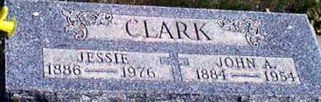 CLARK, JESSIE - Baker County, Oregon | JESSIE CLARK - Oregon Gravestone Photos