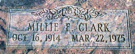 JACKSON CLARK, MILLIE E. - Baker County, Oregon | MILLIE E. JACKSON CLARK - Oregon Gravestone Photos