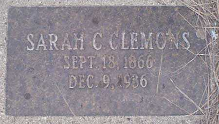 CLEMONS, SARAH C. - Baker County, Oregon | SARAH C. CLEMONS - Oregon Gravestone Photos