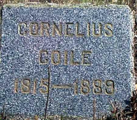 COILE (COYLE), CORNELIUS - Baker County, Oregon | CORNELIUS COILE (COYLE) - Oregon Gravestone Photos