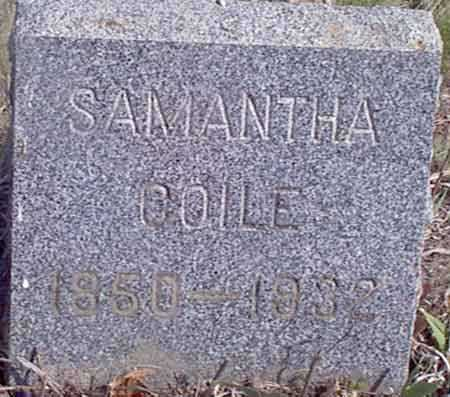 COILE, SAMANTHA - Baker County, Oregon | SAMANTHA COILE - Oregon Gravestone Photos