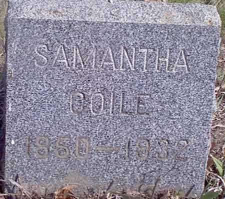 COILE, SAMANTHA - Baker County, Oregon   SAMANTHA COILE - Oregon Gravestone Photos