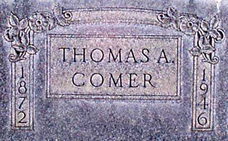 COMER, THOMAS A. - Baker County, Oregon   THOMAS A. COMER - Oregon Gravestone Photos