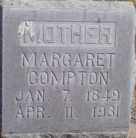 WALTHALL COMPTON, MARGARET - Baker County, Oregon   MARGARET WALTHALL COMPTON - Oregon Gravestone Photos