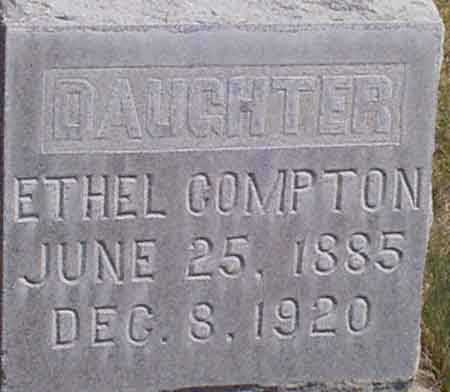 COMPTON, SARAH ETHEL - Baker County, Oregon | SARAH ETHEL COMPTON - Oregon Gravestone Photos