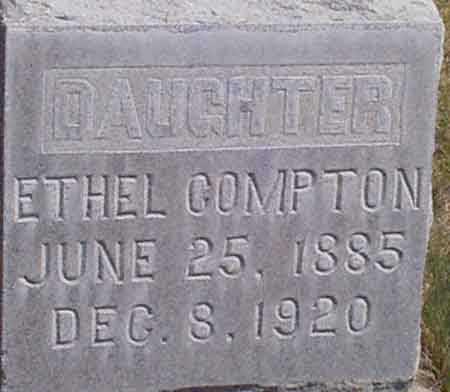 COMPTON, SARAH ETHEL - Baker County, Oregon | SARAH ETHEL COMPTON - Oregon Gravestone Photos
