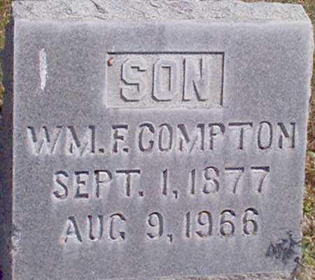 COMPTON, WILLIAM F. - Baker County, Oregon   WILLIAM F. COMPTON - Oregon Gravestone Photos