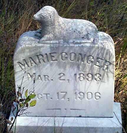 CONGER, MARIE - Baker County, Oregon | MARIE CONGER - Oregon Gravestone Photos