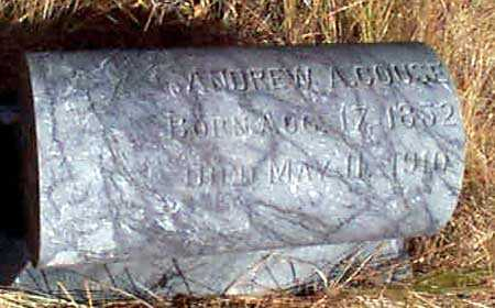 COUSE, ANDREW A. - Baker County, Oregon   ANDREW A. COUSE - Oregon Gravestone Photos