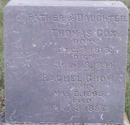 COX, THOMAS - Baker County, Oregon | THOMAS COX - Oregon Gravestone Photos