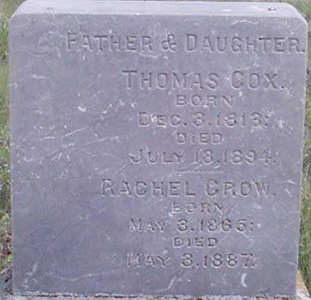 COX, THOMAS - Baker County, Oregon | THOMAS COX - Oregon Gravestone Photos