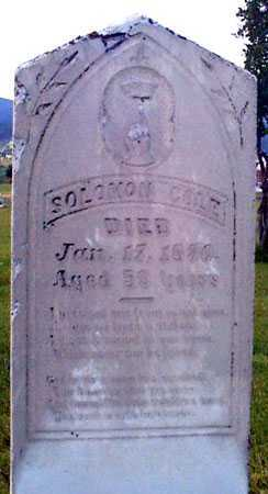 COYLE (COLES), SOLOMON - Baker County, Oregon | SOLOMON COYLE (COLES) - Oregon Gravestone Photos