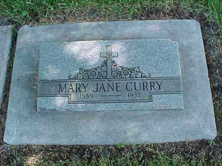 CURRY, MARY JANE - Baker County, Oregon | MARY JANE CURRY - Oregon Gravestone Photos
