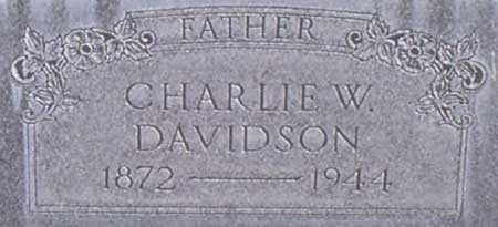 DAVIDSON, CHARLES WAYNE - Baker County, Oregon | CHARLES WAYNE DAVIDSON - Oregon Gravestone Photos