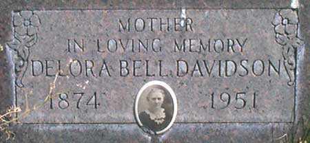 SNODGRASS DAVIDSON, DELORA BELL - Baker County, Oregon   DELORA BELL SNODGRASS DAVIDSON - Oregon Gravestone Photos