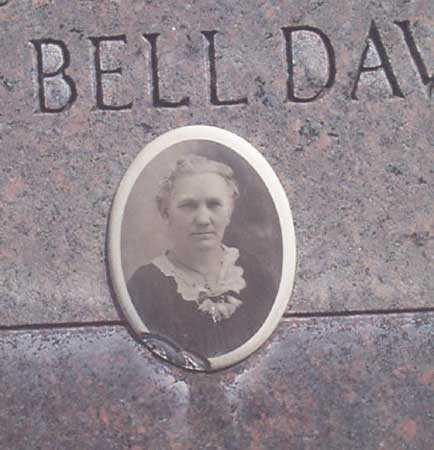 SNODGRASS DAVIDSON, DELORA BELL (CLOSE-UP) - Baker County, Oregon | DELORA BELL (CLOSE-UP) SNODGRASS DAVIDSON - Oregon Gravestone Photos