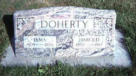 DOHERTY, HAROLD - Baker County, Oregon | HAROLD DOHERTY - Oregon Gravestone Photos
