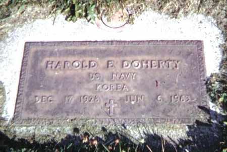 DOHERTY, HAROLD E (SONNY) - Baker County, Oregon | HAROLD E (SONNY) DOHERTY - Oregon Gravestone Photos