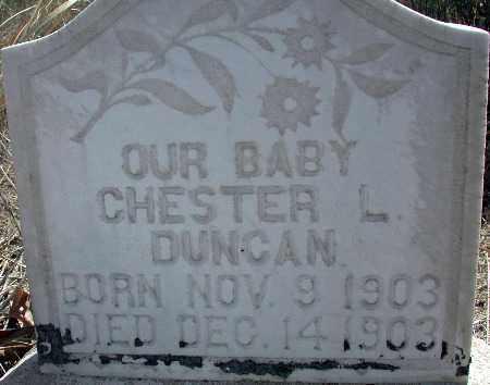 DUNCAN, CHESTER L. - Baker County, Oregon | CHESTER L. DUNCAN - Oregon Gravestone Photos