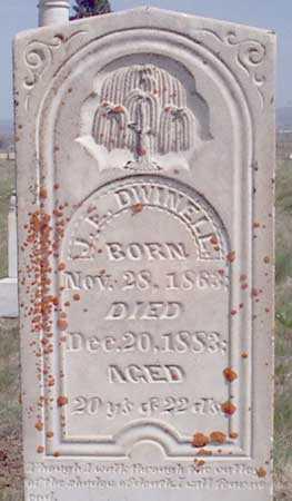 DWINNELL, J. EDDIE - Baker County, Oregon | J. EDDIE DWINNELL - Oregon Gravestone Photos