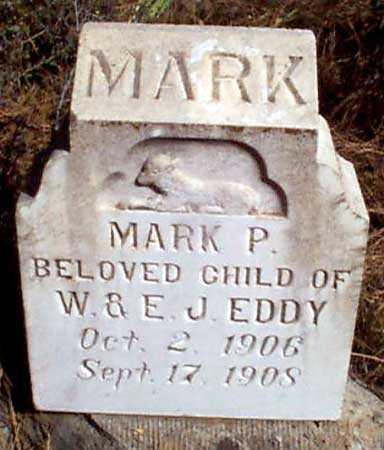 EDDY, MARK PRESTON - Baker County, Oregon | MARK PRESTON EDDY - Oregon Gravestone Photos