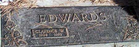 EDWARDS, CLARENCE W. - Baker County, Oregon | CLARENCE W. EDWARDS - Oregon Gravestone Photos