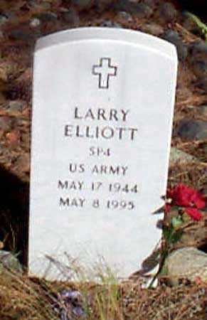 ELLIOTT (SERV), LARRY - Baker County, Oregon | LARRY ELLIOTT (SERV) - Oregon Gravestone Photos