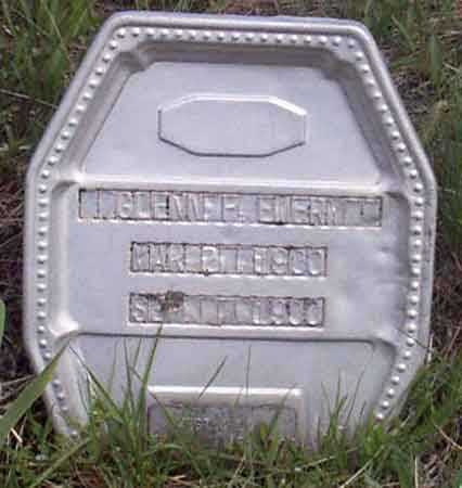EMERY, GLENN F. (GLENNIE) - Baker County, Oregon   GLENN F. (GLENNIE) EMERY - Oregon Gravestone Photos