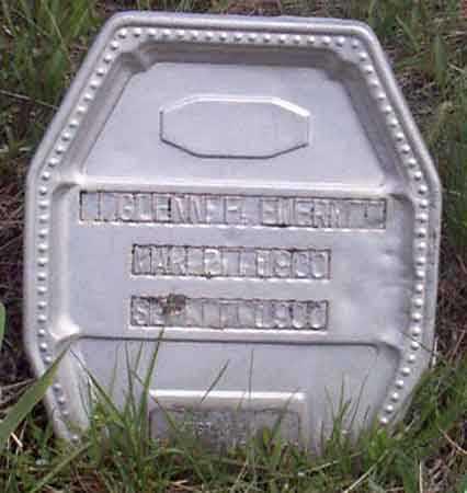 EMERY, GLENN F. (GLENNIE) - Baker County, Oregon | GLENN F. (GLENNIE) EMERY - Oregon Gravestone Photos