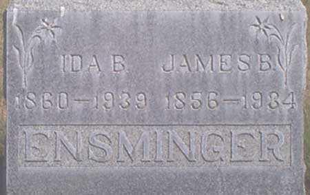 SMITH ENSMINGER, IDA ISABELL (BELL) - Baker County, Oregon   IDA ISABELL (BELL) SMITH ENSMINGER - Oregon Gravestone Photos