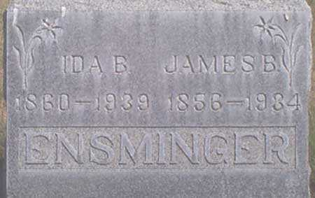 ENSMINGER, JAMES BUCHANAN - Baker County, Oregon | JAMES BUCHANAN ENSMINGER - Oregon Gravestone Photos