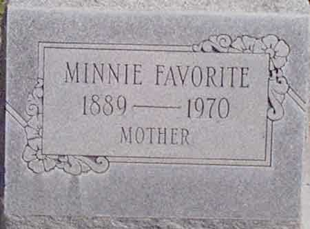 FAVORITE, MINNIE ESTELLA - Baker County, Oregon | MINNIE ESTELLA FAVORITE - Oregon Gravestone Photos